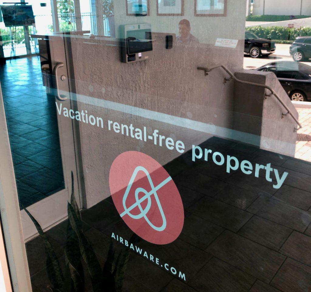 Airbnb-free properties